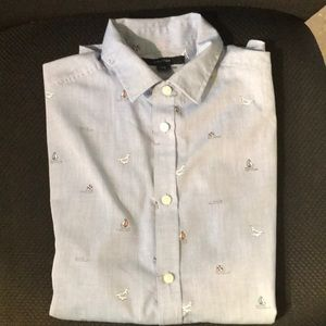 Nautica shirt for boys; pre-owned size 14